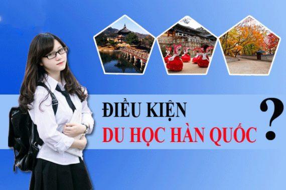 Điều kiện du học Hàn Q